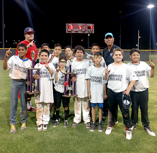 Roskruge 5th Grade and Under 2019 Softball Champions